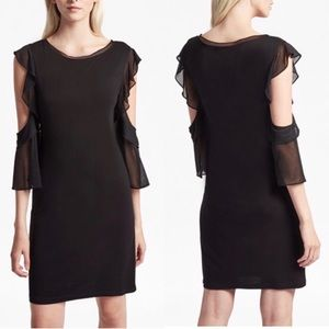 French Connection Dresses - NWT French Connection Black Cold Shoulder Dress